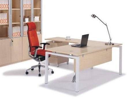 Bureau avec retour et caisson elegant bureau avec caisson for Bureau blanc avec retour